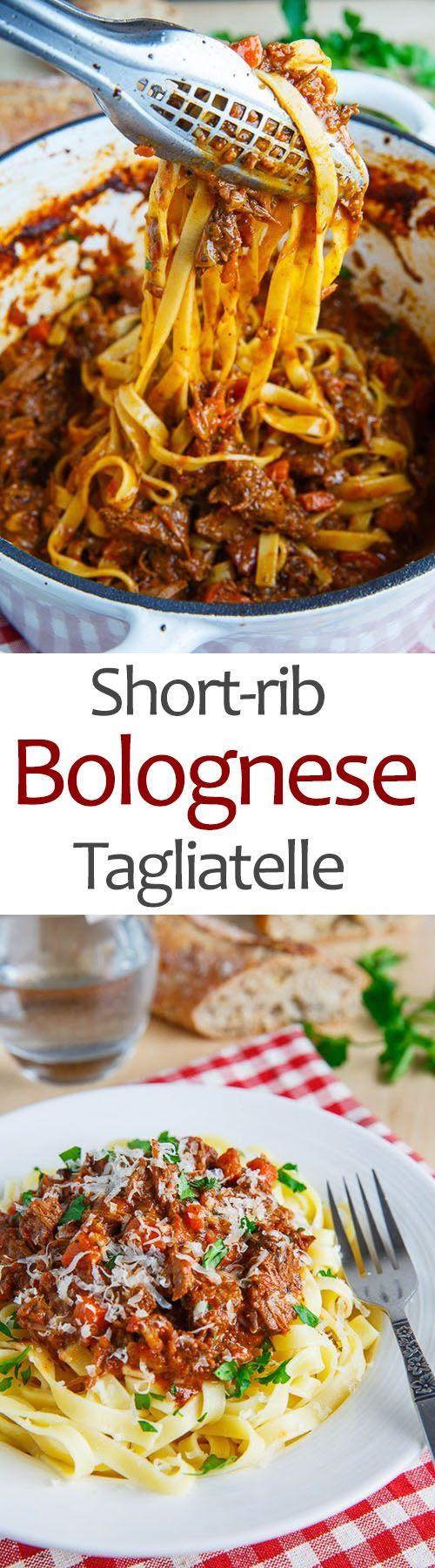 Short-rib Bolognese Tagliatelle