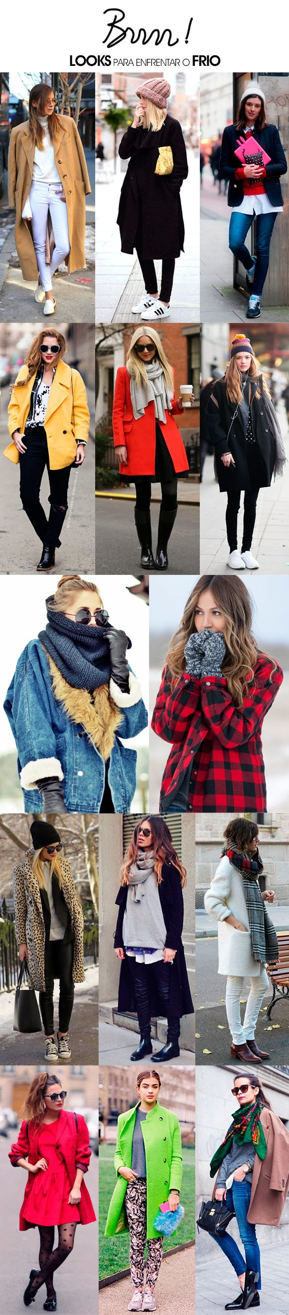 De 35ºC a -5ºC: o que vestir?