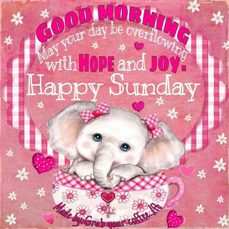 17 Best Ideas About Happy Sunday Morning On Pinterest