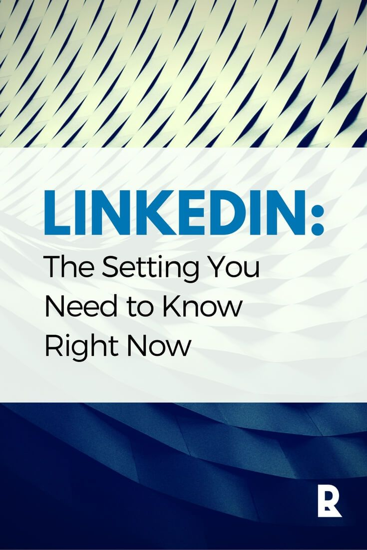 LinkedIn: This setting will impact your access to new opportunities! | @Red Letter Resumes LLC #jobsearch #LinkedIn #career