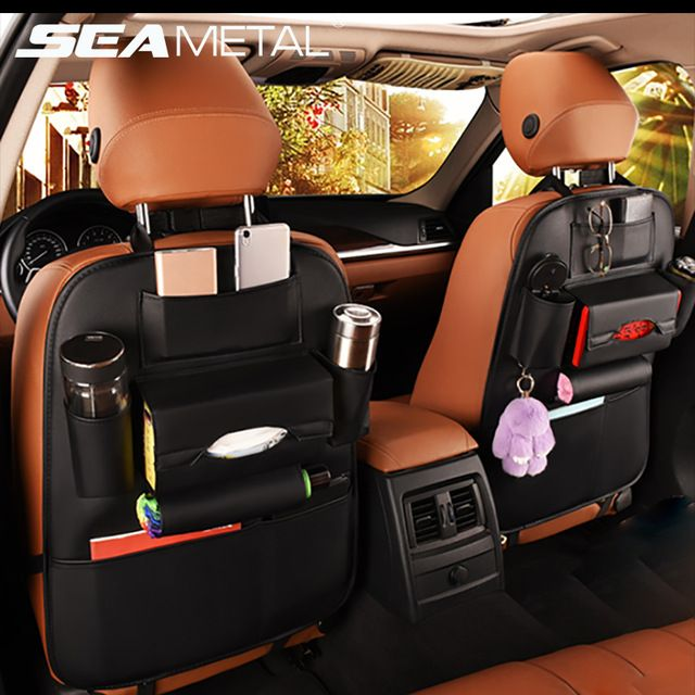 Car Organizer Organization Solution To The Messy Back Seat Syndrome Affiliate Car Seat Organizer Car Seats Cars Organization