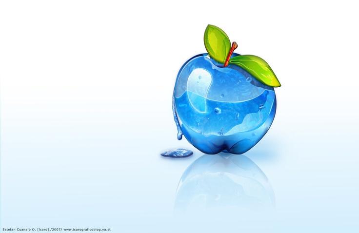 Apple Gel by ~icaroGraf on deviantART