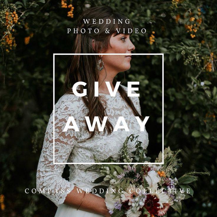 WEDDING PHOTO & VIDEO GIVEAWAY!!!   http://www.compassweddingco.com/  #oncewed #weddinginspo #bridetobe #engaged #shesaidyes #giveaway #bride #boho #bohowedding #bohemianchic