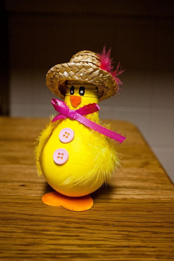 Easter Duck Decoration by SewCharmingCrafts on Etsy, $7.00