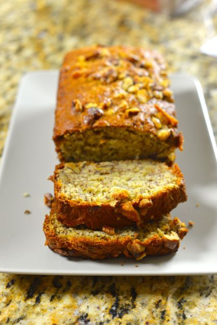 Starbucks Walnut Banana Bread is a bread you can enjoy a cup of coffee without a tasty treat to go with it. This banana bread is very moist and packed with Walnuts.
