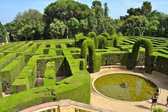Parque del Laberinto de Horta, Barcelona: Spain