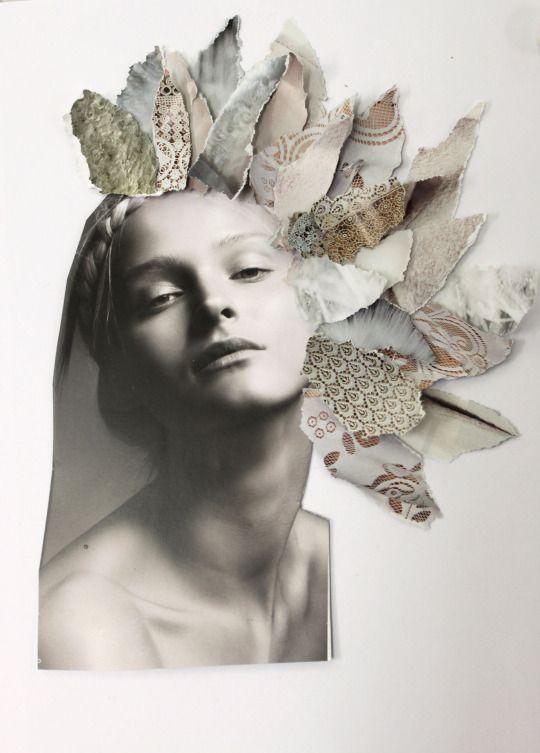 """""""LA DONNA PIUMA"""" by Chiara Del Piccolo  CORSO BREVE DEL DISEGNO CREATIVO A MANO LIBERA - NABA"""