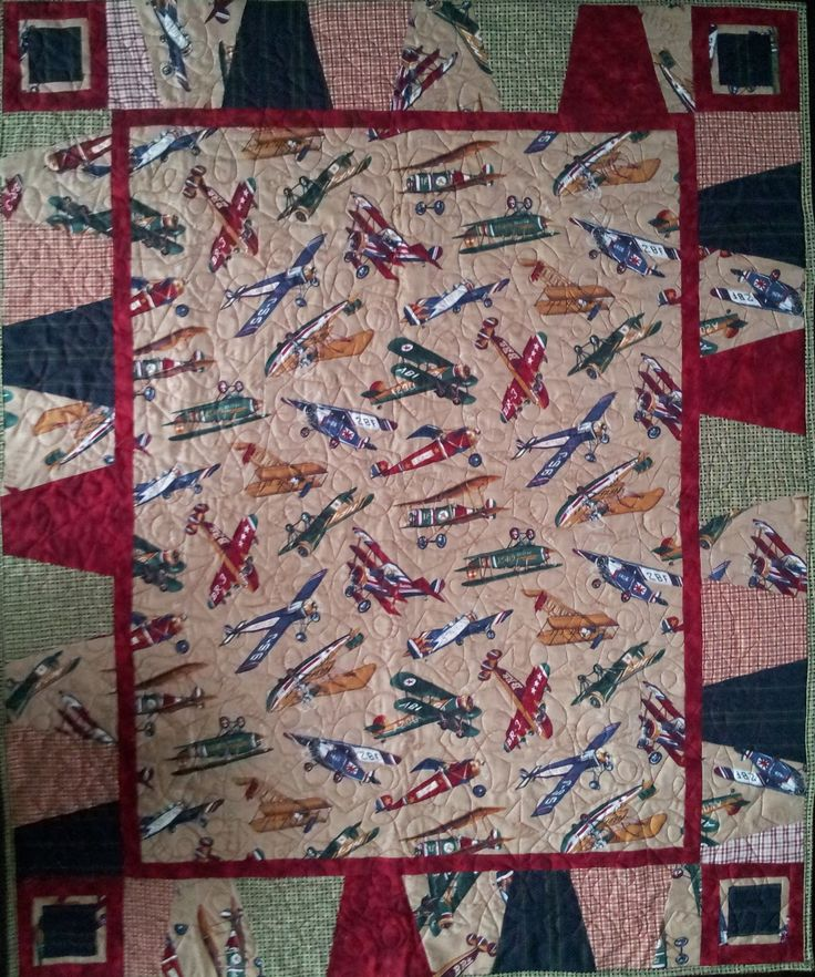 29 best Boy quilts images on Pinterest | Boy quilts, Airplane ... : airplane quilts - Adamdwight.com