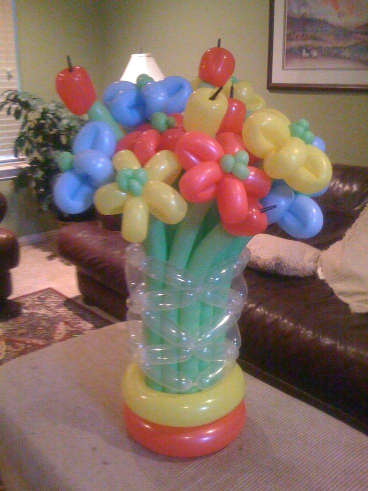 1000 ideas about balloon arrangements on pinterest for Balloon arrangement ideas