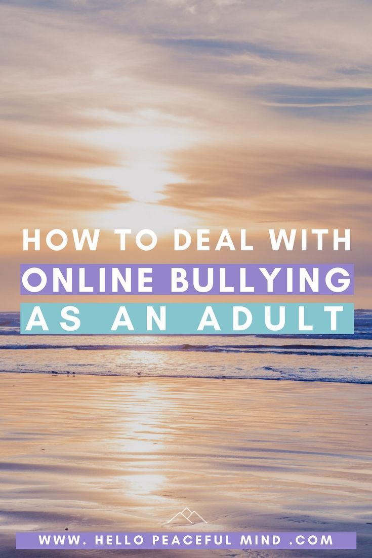Have you been bullied online or witnessed it? Here's a guide to help you deal with online bullying and create a positive online space!