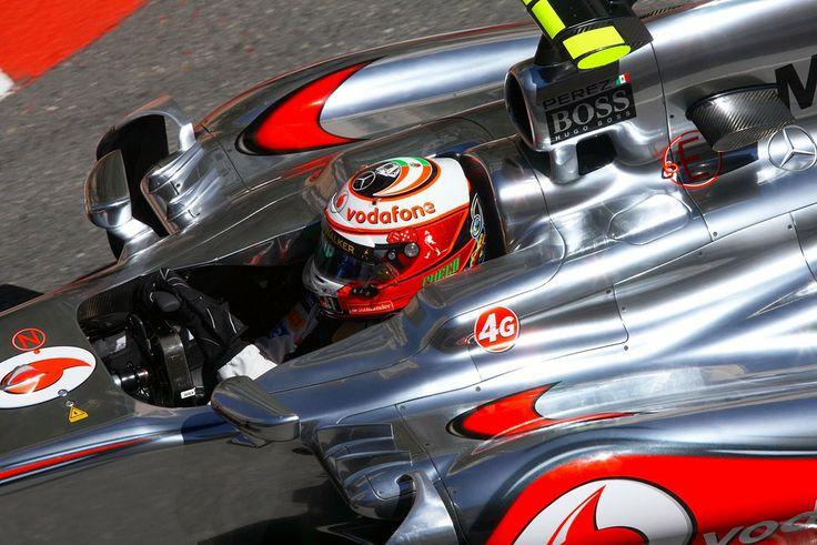 Sergio Perez Vodafone McLaren Mercedes 2013