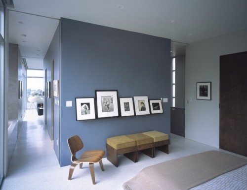 Gray Blue Deep Grayish Blues Work Very Well In Contemporary Spaces This Is A
