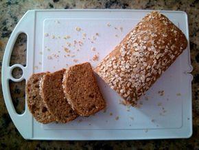 Pão integral com aveia e mel (liquidificador)