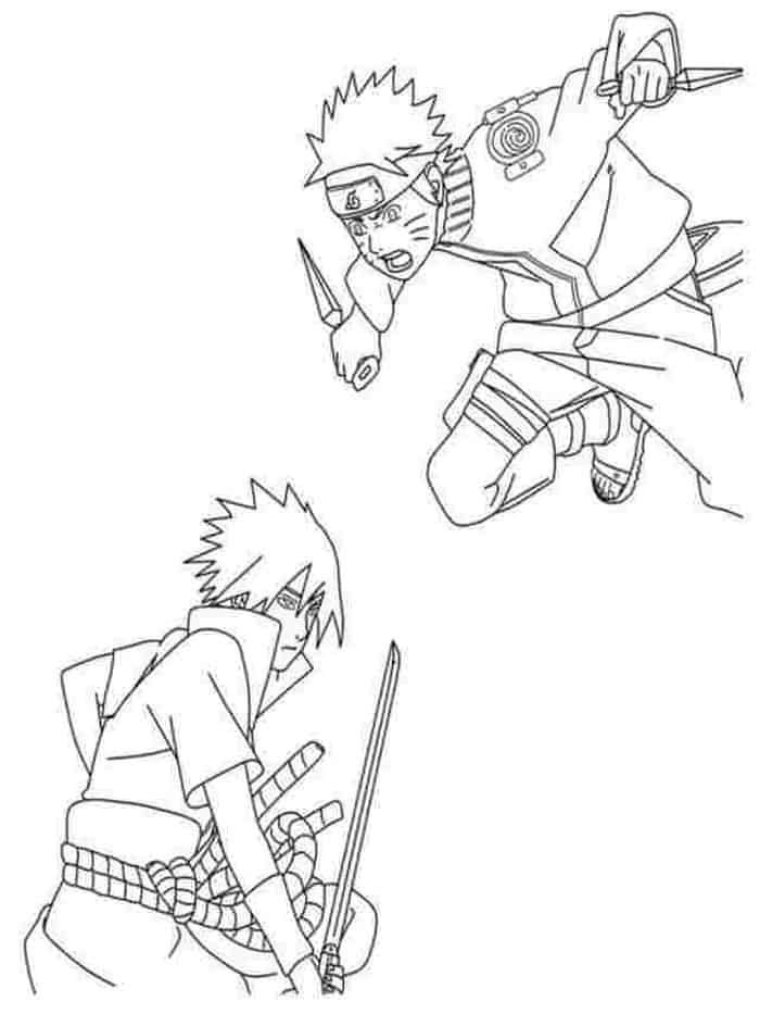 Naruto Coloring Pages In 2020 Chibi Coloring Pages Cartoon