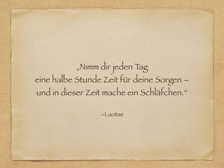 Zitat - Laotse