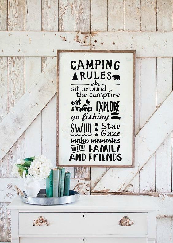 Camping Rules Summer Camper Happy Camper Home is Where You Park It I Love You To The Mountains and Back camper happy camper camping cabin decor SVG and DXF EPS Cut File • Cricut • SilhouettePng • Download File • Printable Cricut Projects• Silhouette Project Ideas By Kristin Amanda Designs