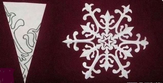 Объемные птички, снежинки, и не только,  из бумаги | Рукоделие