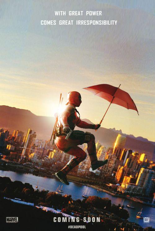 Ryan Reynolds é pendurado por cabos no set de 'Deadpool'