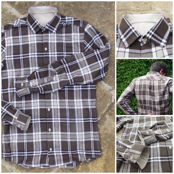 This plaid Fairfield Shirt looks so darn cozy!