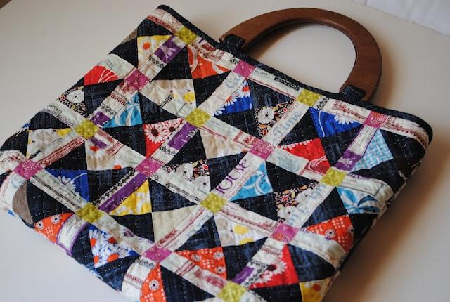 Beautiful patchwork bag!!!