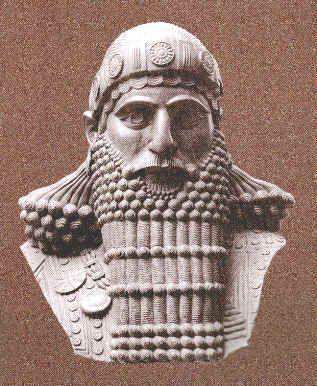 Assyrian Staues in Museums: Ashurbanipal,Assyrian King 669-694 BCE