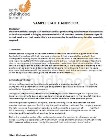 Employee Handbook Templates Detailed Guide On Employee Handbook 40