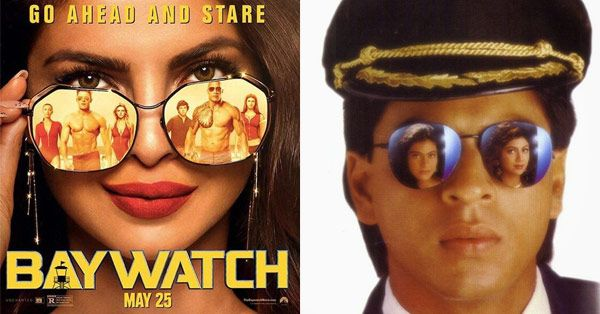 Priyanka Chopra copies Shah Rukh Khan in the new Baywatch poster #FansnStars