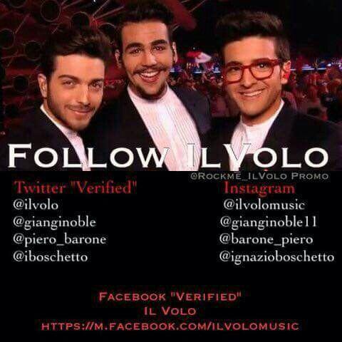 Follow Il Volo