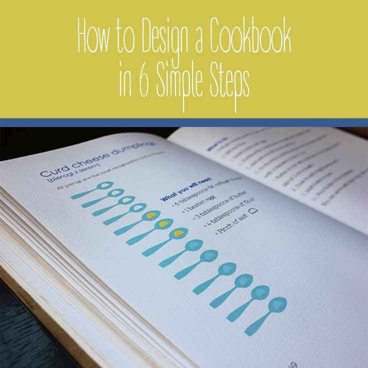 How to Design a Cookbook in 6 Simple Steps  | Varró Joanna Design | Graphic Design Tips | Designer | Freelancer | Inspiration | Graphic Design | Graphic Designer