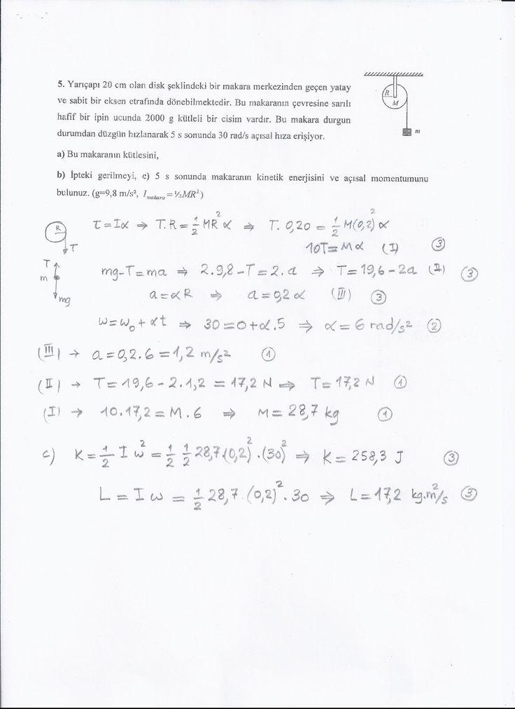İçerik: 2 senelik - Vize Sınavları - Final Sın navları - Bütünleme Sınavları - Quiz Fizik 181 dersi mühendislik fakültesi ortak dersidir ve genellikle her sene benzer sorular çıkar. İçerik Türkçedir fakat ortak ders olduğu için İngilizce bölümlerin sorusu aynı sorular ve İngilizce oluyor