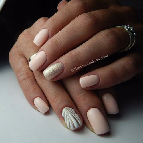 Painting Seashells With Nail Polish: 1000+ Ideas About Seashell Nails On Pinterest