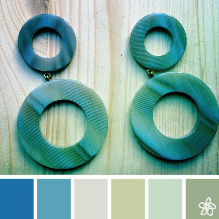 color palette - july - jardin joli