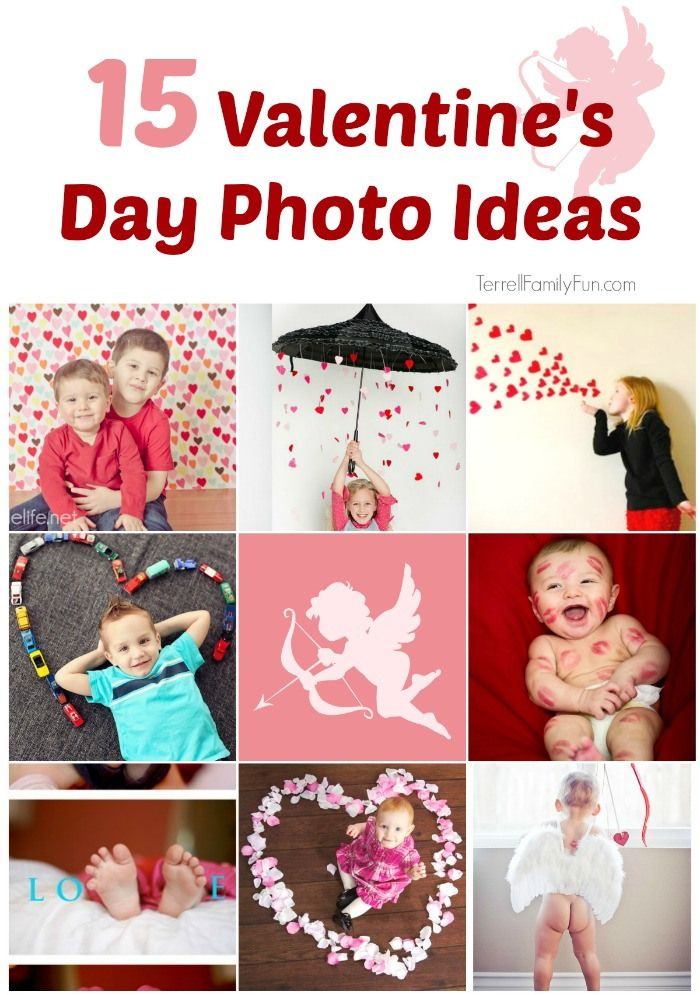 15 DIY Valentine's day Photo Ideas