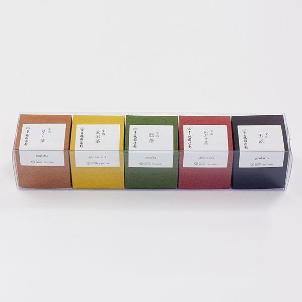 【47122】一煎パック詰合せ(玉露・かぶせ茶・煎茶・玄米茶・ほうじ茶)