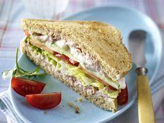 Gesundes Abendessen – lecker-leichte Rezepte - vollkorn-sandwich  Rezept