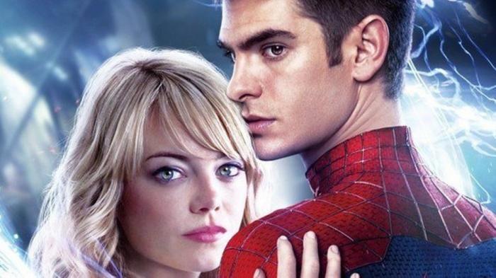 Emma Stone dan Andrew Garfield - Wah, Pasangan Yang Cinlok Di Film Spiderman Ini…