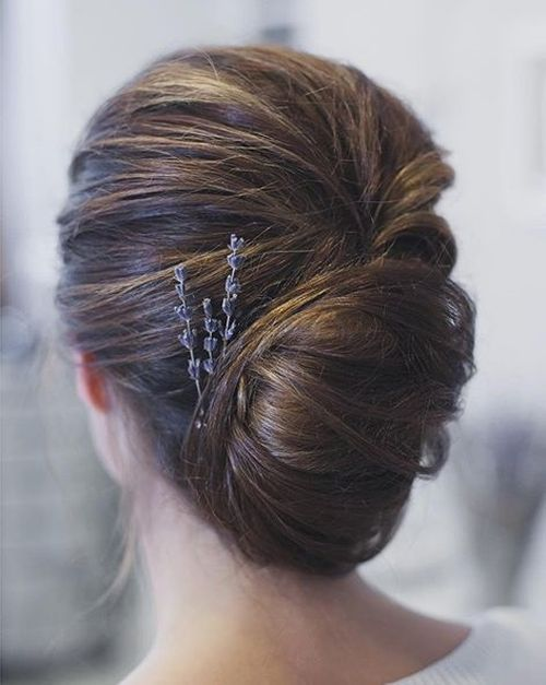 boho french twist updo                                                                                                                                                                                 More