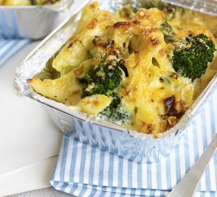 A versatile pasta bake is a midweek staple and this recipe can even be made ahead and frozen for extra convenience