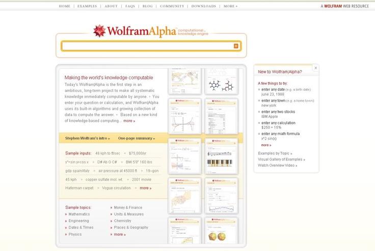 Wolfram Alpha ¿En qué se diferencia de Google?