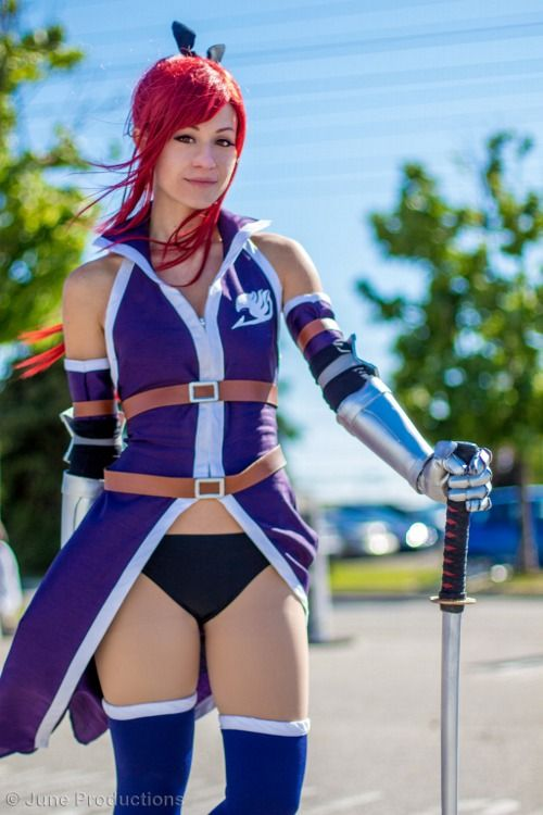 Erza Scarlet cosplay-  Geared Up by ~aubzy000