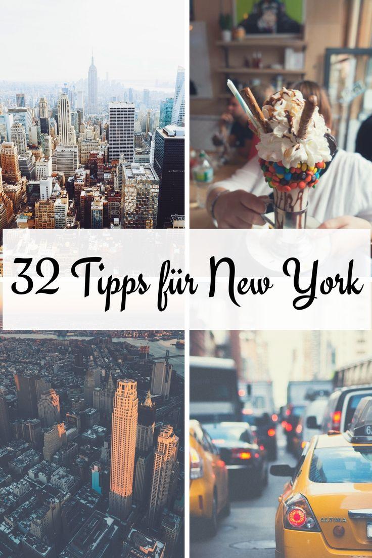 Hier findest du 32 New York Reise Tipps, die dir garantiert bei deinem nächsten New York Urlaub behilflich sein werden. Tritt nicht in die typischen Fettnäpfchen und lerne NYC bereits vor deiner Reise etwas besser kennen als andere.