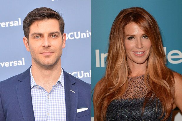 """Andy Weir's sci-fi drama """"Mission Control"""" was written with a bilingual Latina and African-American man -- now played by Poppy Montgomery and David Giuntoli"""