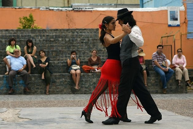 The city of tango, Buenos Aires!