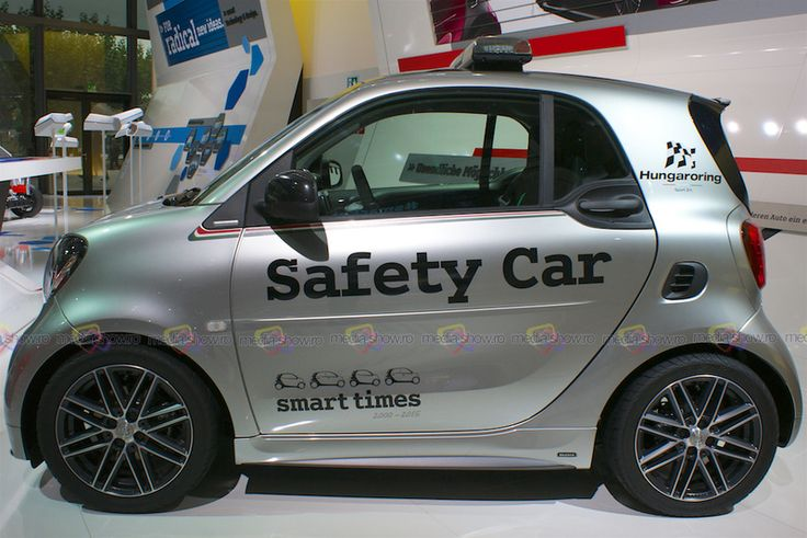 2016 Smart Brabus Safety Car IAA Frankfurt 2015 - Want to see more? Follow the link on the photo for Smart at IAA Frankfurt 2015!