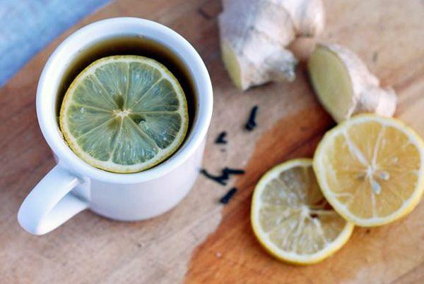 keeping warm + spiced ginger lemon tea | a spoon to measure - sips ...