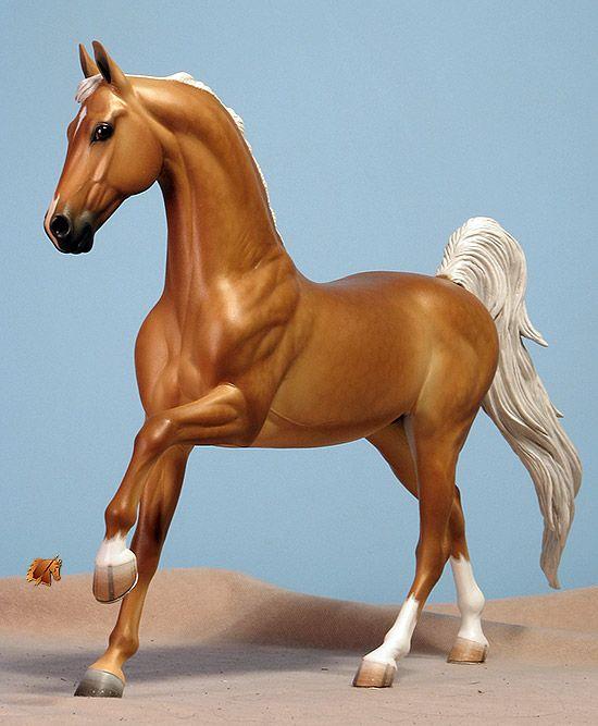 Sarah Rose/Rose Studios Miss America saddlebred horse resin customized and painted by Carol Williams www.riorondo.com www.rosehorse.com