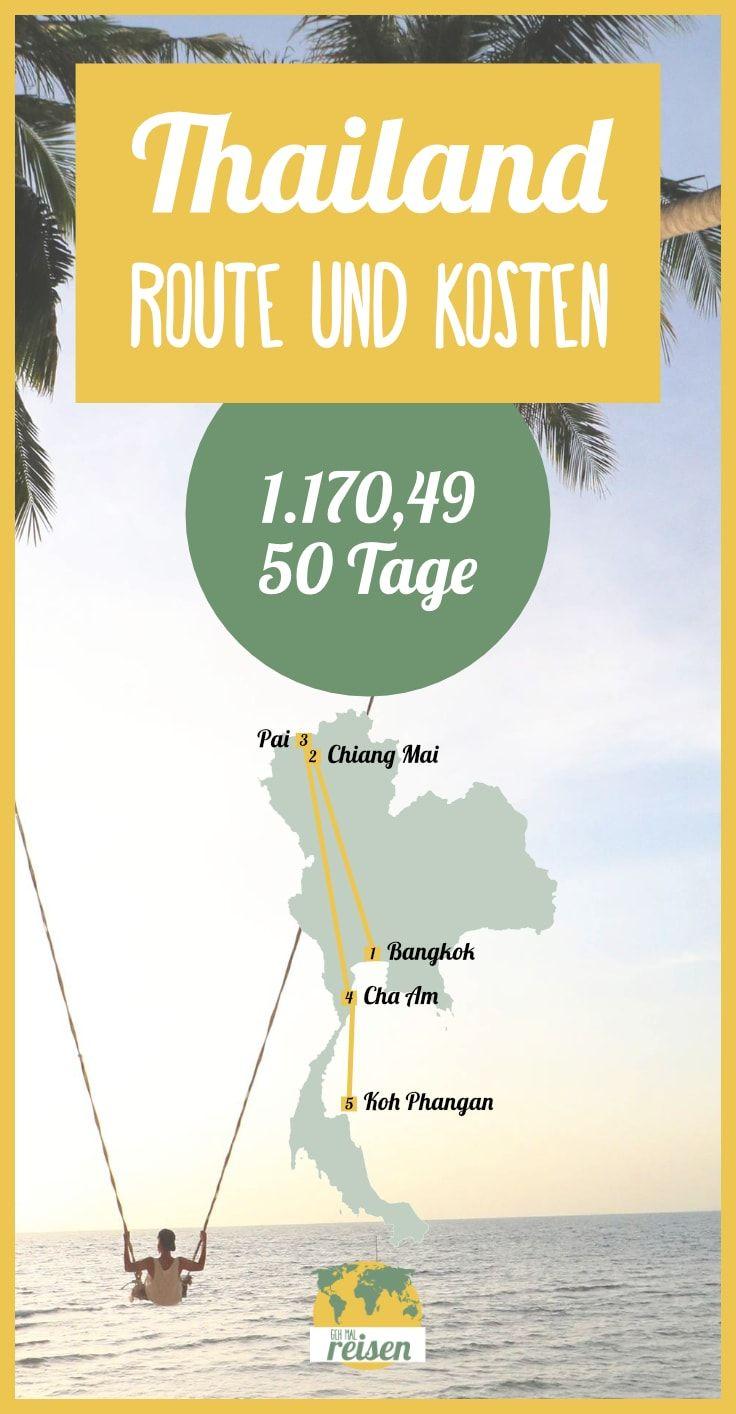 ✈ Thailand • Route & Kosten Für Eine Individuelle Rundreise