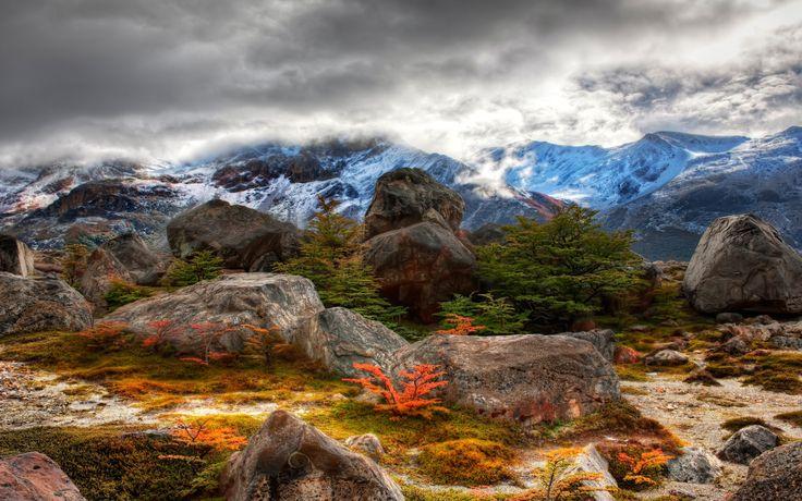 Terre/Nature Paysage  Scénique Ciel Nuage Imagerie à Grande Gamme Dynamique Fond d'écran