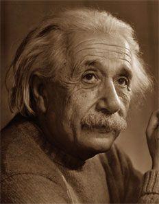 Albert Einstein • Due cose sono infinite: l'universo e la stupidità umana, ma riguardo l'universo ho ancora dei dubbi.