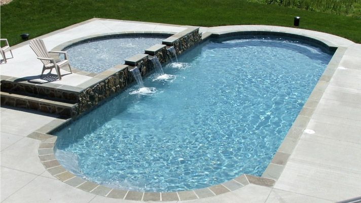 From the materials we use, through the complete 14-Step, 4-Bay Process, to our total attention to each final detail, you get a better pool for your money with Trilogy Pools guaranteed! Description from trilogypools.com. I searched for this on bing.com/images